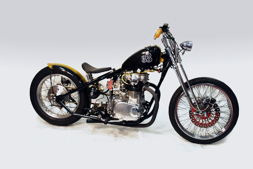 1972 xs650 bobber black chappell customs. Black Bedroom Furniture Sets. Home Design Ideas