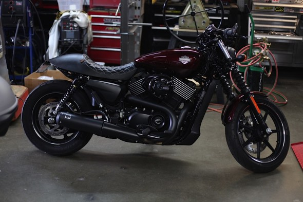 HARLEY DAVIDSON STREET 750's and 500's   Chappell Customs
