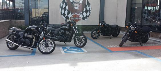 Bikes for Bartels' Harley Davidson – Marina Del Rey California
