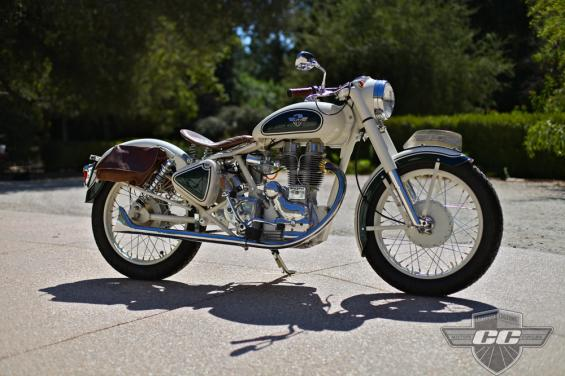 Chris's Vintage Royal Enfield