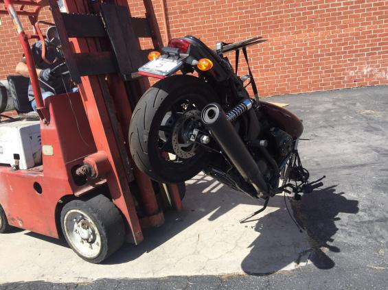 Bartels' Harley Davidson Dirt Track Project…