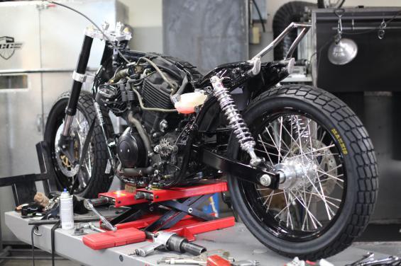 Bartels' Harley Davidson Dirt Track Project update 3…