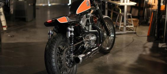 Another Sportster Cafe Project