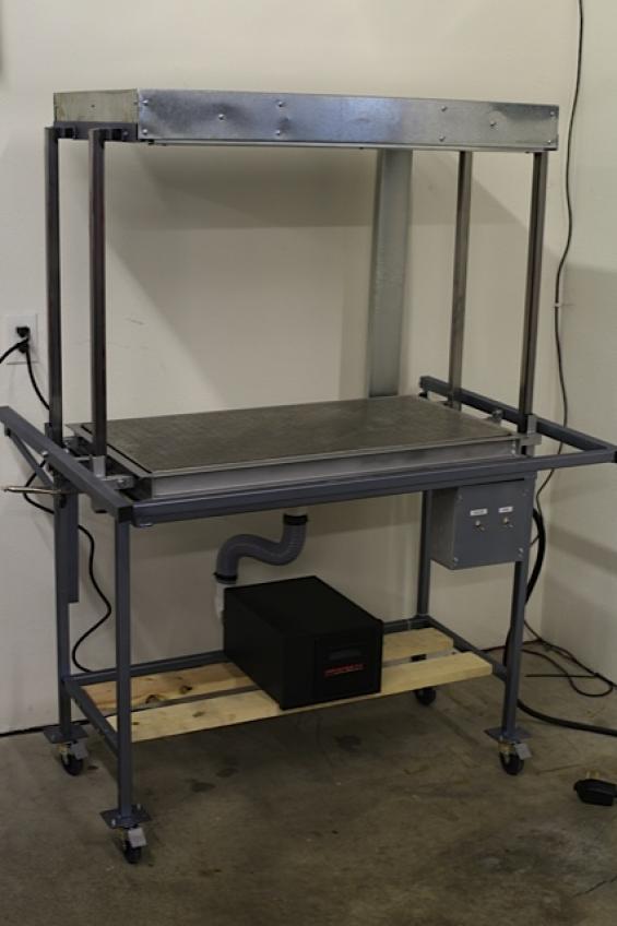 Built a Vacuform Machine | Chappell Customs