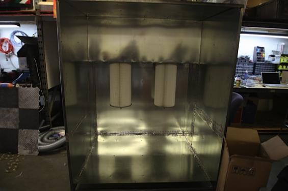 Powdercoat Spray booth Post2